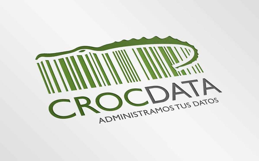 Penyertaan Peraduan #66 untuk Logo for CrocDATA a website for barcodes