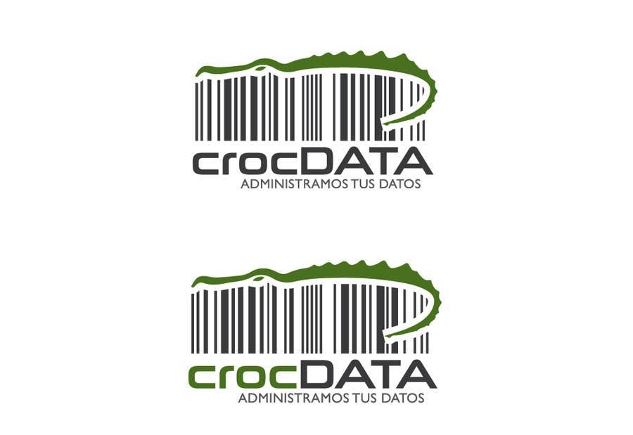 Penyertaan Peraduan #75 untuk Logo for CrocDATA a website for barcodes