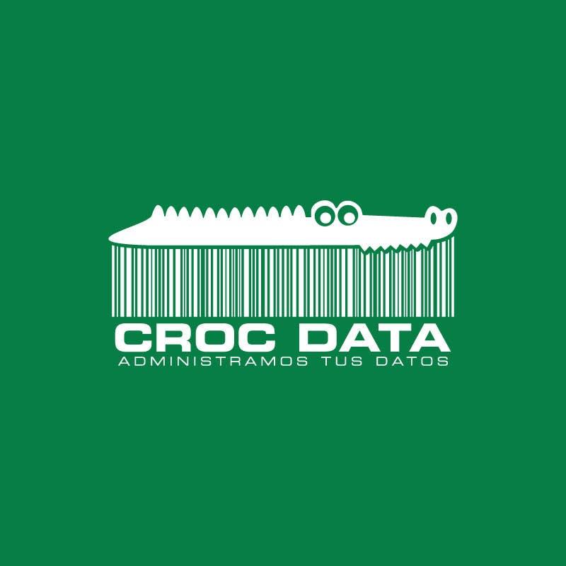 Penyertaan Peraduan #91 untuk Logo for CrocDATA a website for barcodes