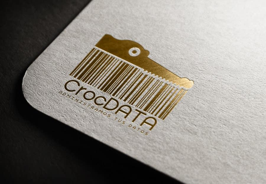 Penyertaan Peraduan #117 untuk Logo for CrocDATA a website for barcodes