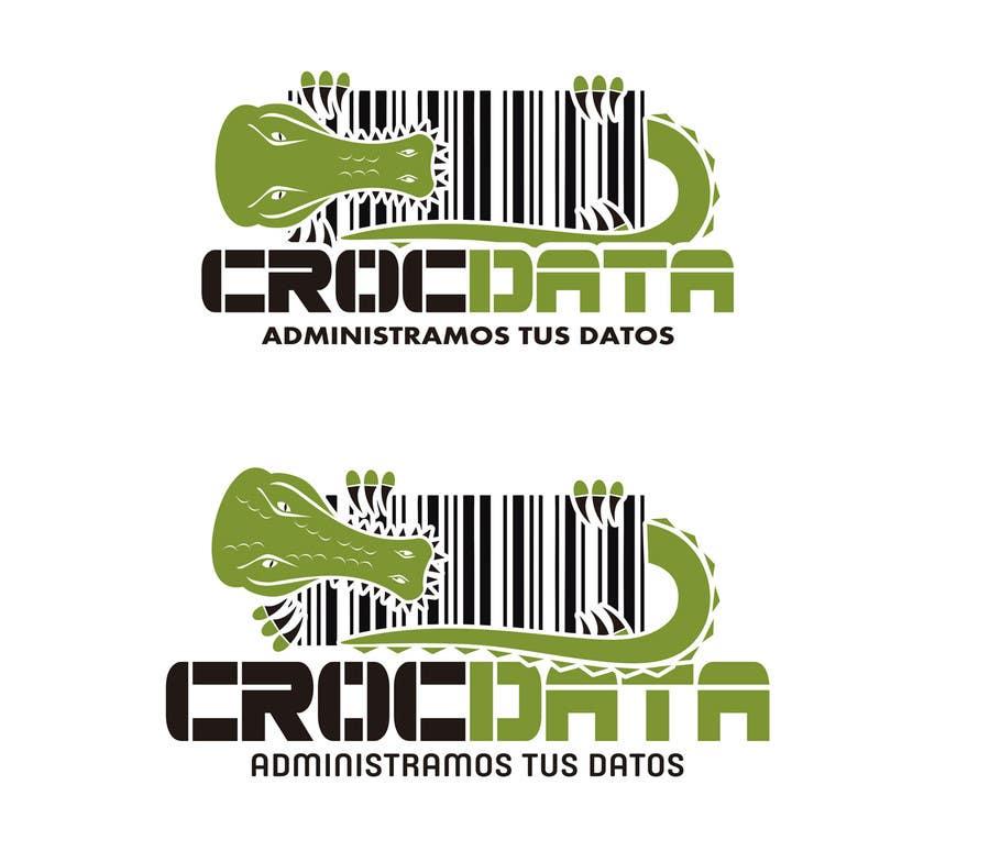 Penyertaan Peraduan #77 untuk Logo for CrocDATA a website for barcodes