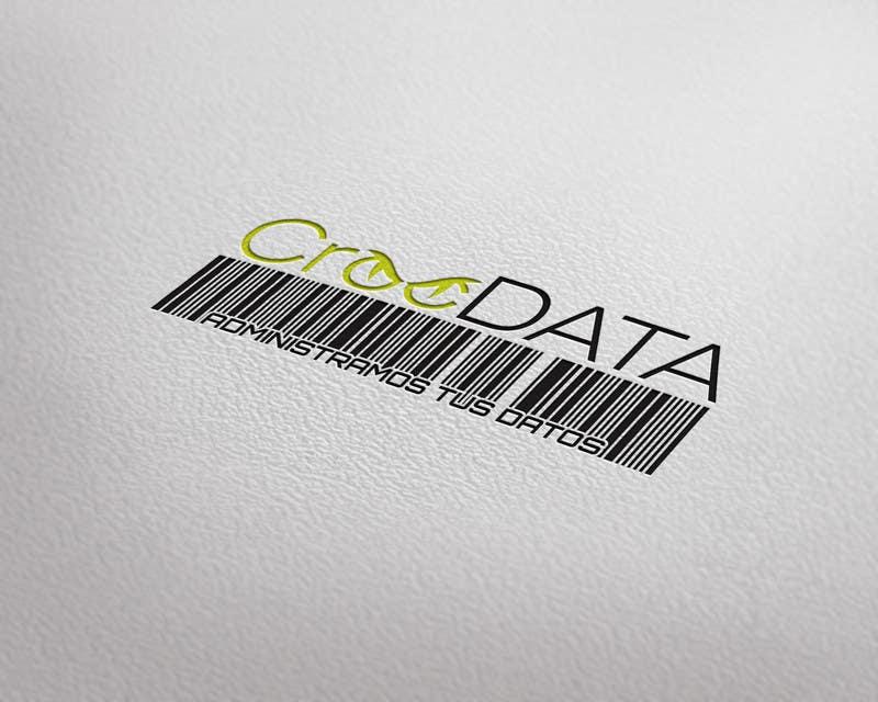 Penyertaan Peraduan #53 untuk Logo for CrocDATA a website for barcodes