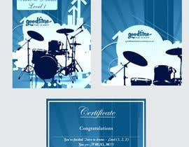 #24 untuk Book cover and certificate for Goodtime Music Academy oleh Shrey0017