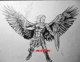 GhrMaxim tarafından Michael the Arch Angel Tattoo için no 9