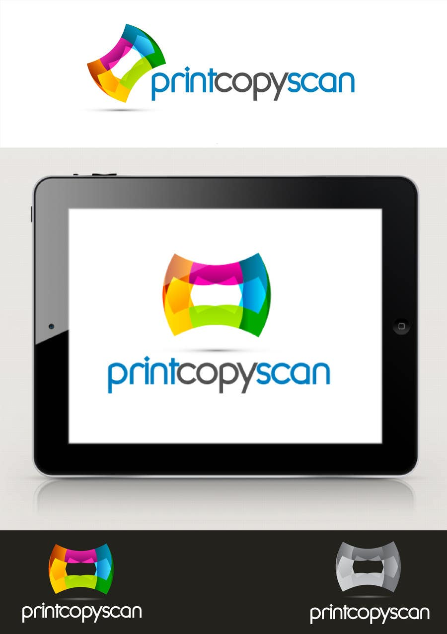 Kilpailutyö #118 kilpailussa Design a Logo for Print Copy Scan