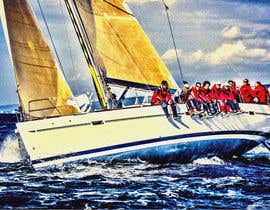 #77 untuk Retouch a sailing image to add more drama oleh Cheda