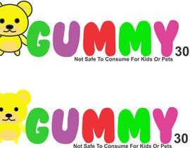 #19 untuk Gummy bear logo oleh istykristanto