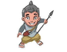 #12 untuk Design a character of Kattappa (warrier in Movie bahubali) oleh kvinay84