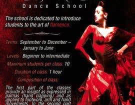 Vanuzza tarafından Create an ad for a Flamenco Dance School için no 15