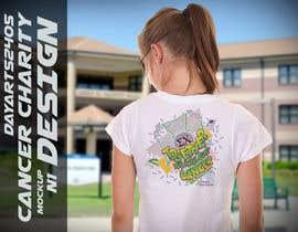 DayArts2405 tarafından Design a Simple T-Shirt For Cancer Charity için no 6