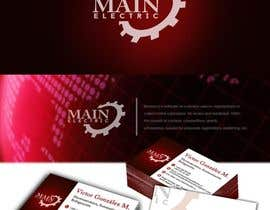#3 untuk Improve logo and make business card oleh edmarbacani