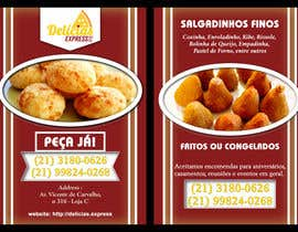#2 untuk Flyer for Food (Brazilian Snacks) Delivery oleh rayhandnj