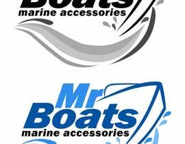 #61 para Logo Design for mr boats marine accessories de richhwalsh