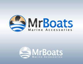 #153 cho Logo Design for mr boats marine accessories bởi bjandres