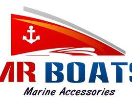 #103 for Logo Design for mr boats marine accessories by Lalit46444