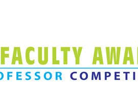 #26 para Design a logo for Faculty Awards professor competition por debbypeetam