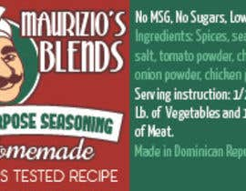 orlandi tarafından Design one label for sauce bottles için no 16