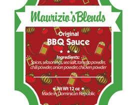 #7 untuk Design one label for sauce bottles oleh amywang91