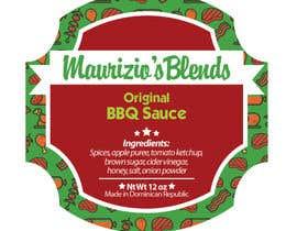 #19 untuk Design one label for sauce bottles oleh amywang91
