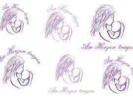 #11 untuk Design eines Logos for AM HERZEN TRAGEN oleh wildcherry023