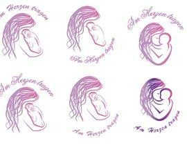 #26 untuk Design eines Logos for AM HERZEN TRAGEN oleh wildcherry023