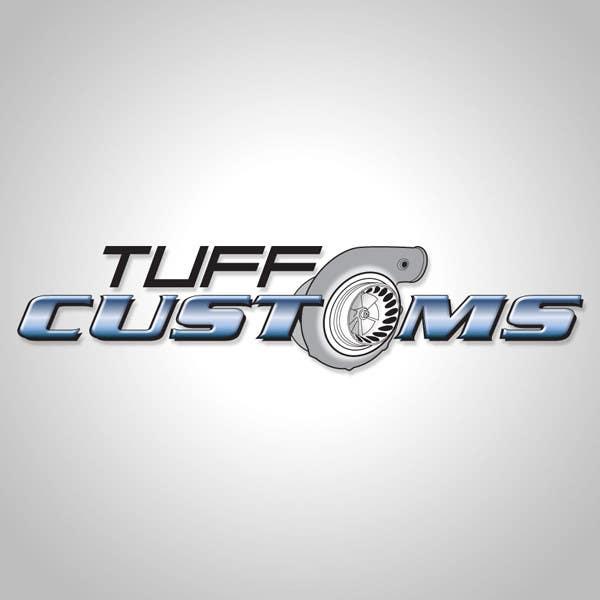 Конкурсная заявка №40 для Logo Design for Tuff Customs