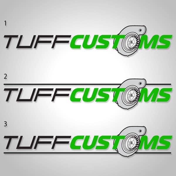 Contest Entry #                                        36                                      for                                         Logo Design for Tuff Customs