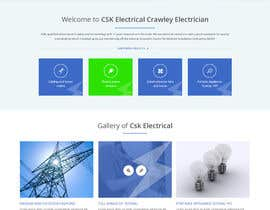 #25 untuk Build a new website for replacing my existing website for an electrician oleh syrwebdevelopmen