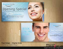 elizewatkins tarafından Design a Flyer for a teeth whitening clinic! için no 90