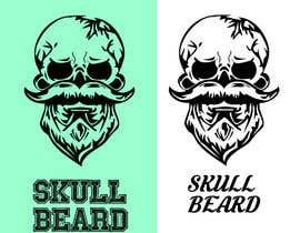 #50 untuk Skull Beard logo oleh EhteshamMukhtar