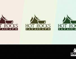 nº 188 pour Design a Logo for Hot Rocks Java Cafe par pixell