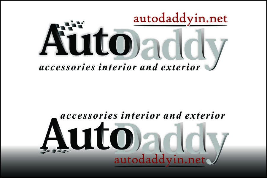 Natečajni vnos #                                        45                                      za                                         Logo Design for Auto Daddy Accessories