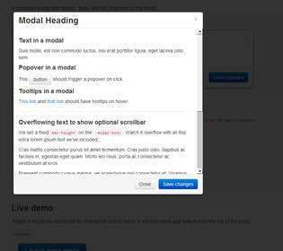 #7 for Simple Modal for Volusion website by saikrishnak