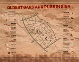 alekchapel tarafından Design an infographic-style map with oldest bars in Riga için no 4