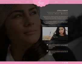 #31 untuk Design a website for an actress/singer/model oleh herick05