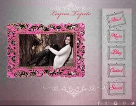 #48 untuk Design a website for an actress/singer/model oleh harshita008