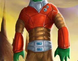 #37 untuk Design 1 Sci-Fi Character Art -- 2 oleh marcokap