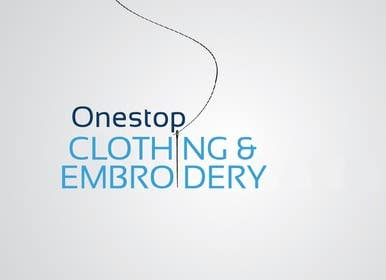 #3 for Design a Logo for Onestop Clothing & Embroidery by sweetzahid