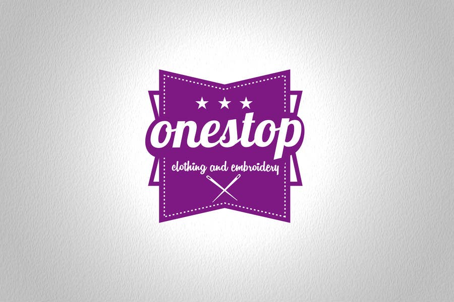 #7 for Design a Logo for Onestop Clothing & Embroidery by cha5e