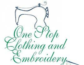 #2 para Design a Logo for Onestop Clothing & Embroidery por rkravi111281