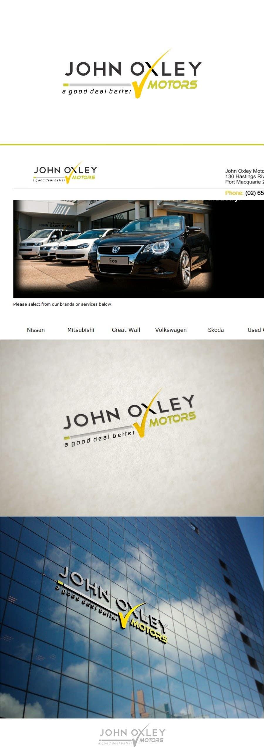 #172 for Design a Logo for John Oxley Motors by timedsgn
