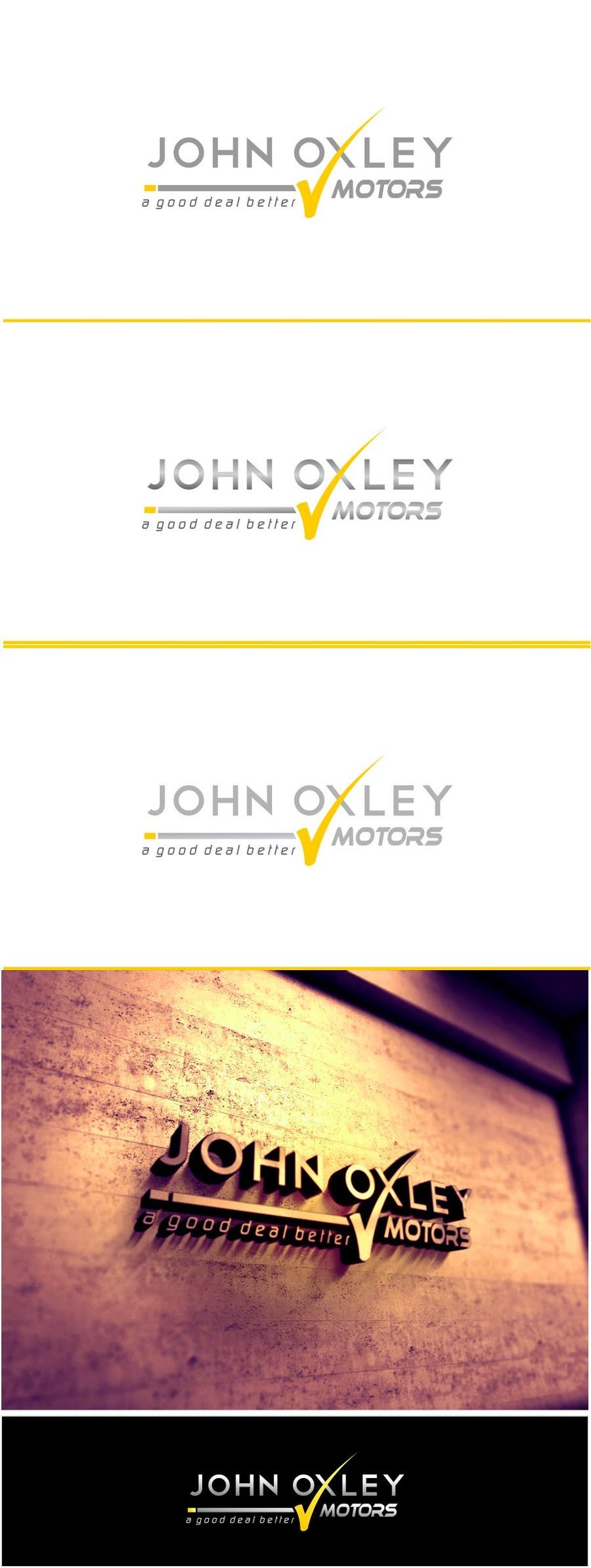 #290 for Design a Logo for John Oxley Motors by timedsgn