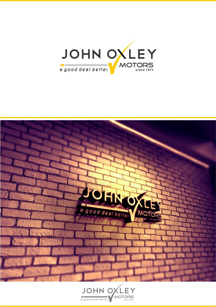 #581 for Design a Logo for John Oxley Motors by timedsgn