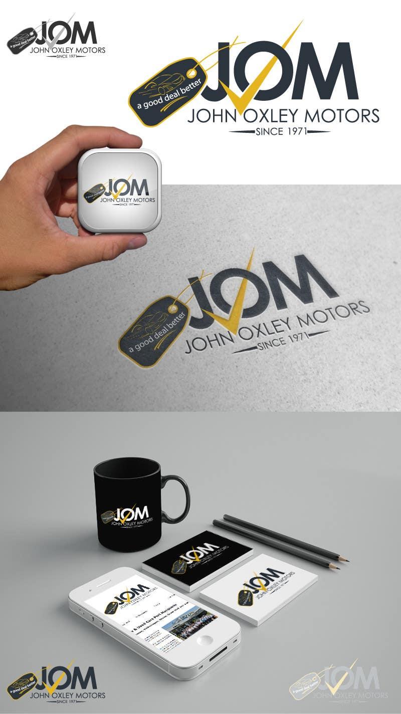 #609 for Design a Logo for John Oxley Motors by pixelhubdesings