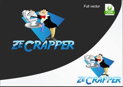 #13 untuk Design a Logo for Ze Crapper oleh petariliev