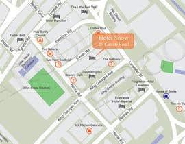 #19 untuk Draw a location map of my hotel for printing oleh harool