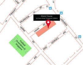 #1 untuk Draw a location map of my hotel for printing oleh Jakelongdesign