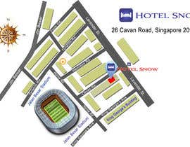 #20 untuk Draw a location map of my hotel for printing oleh lysenkozoe
