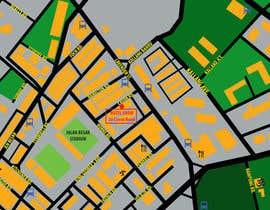 #6 untuk Draw a location map of my hotel for printing oleh ranco81