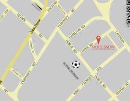 #18 untuk Draw a location map of my hotel for printing oleh Xerlok
